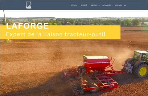 LAFORGE Group tracteur outil